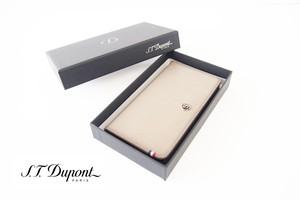 エス・テー・デュポン|S.T. Dupont|フォン|スマホ|レザーケース|ラインD|180743|Samsung Galaxy S5|ベージュ