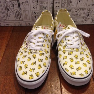VANS / ヴァンズ | AUTHENTIC x [PEANUTS] WOOD STOCK/BONE