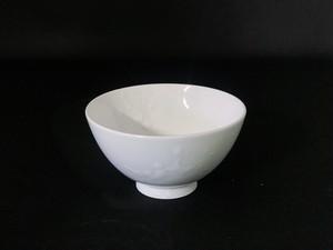 【井上祐希作】釉滴飯碗(中)WHITE
