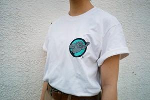 """""""筋肉犬Tシャツ""""【Megumi Yamazaki】"""