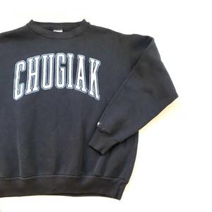 """Chugiak"" Print Sweatshirt / ロゴプリントカレッジスウェットシャツ"