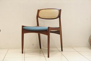 Erik Wørts Dining Chair Rosewood & Ratan