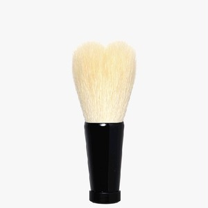 ハート型洗顔ブラシ 小 ホワイト/黒軸