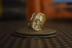 THUMBS UP MARKET original antique KEY RING8