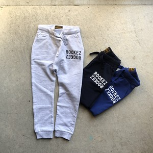 "【KID'S】ROCKEZ ""Double Logo"" Slimfit Sweat Pants"