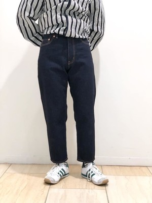 JEANS 12oz SELVAGE CROPPED JEANS