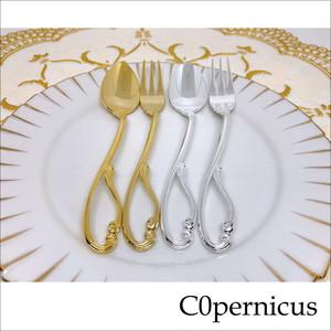 Velvet:真鍮(Brass) コーヒースプーン&ヒメフォーク 浜松雑貨屋 C0pernicus