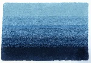 阿波藍の敷物 グラデーション