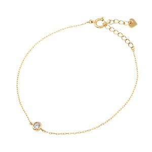 K10YGダイヤモンドブレスレット 040201001350