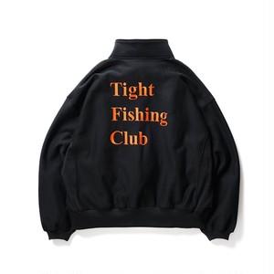 TIGHTBOOTH  CHAOS FISHING CLUB   FISHING SNAP SWEAT BLACK