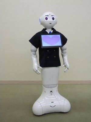 ロボット☆ファッション☆ジャケット☆ダブル☆Pepper向け PJK16-001
