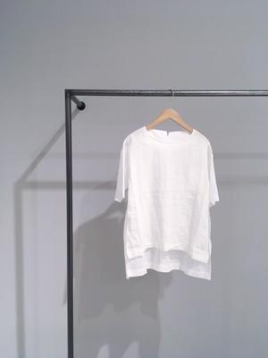 【COSMIC WONDER】うみ羽衣のリネンシャツ・WHITE/07CW01091-1