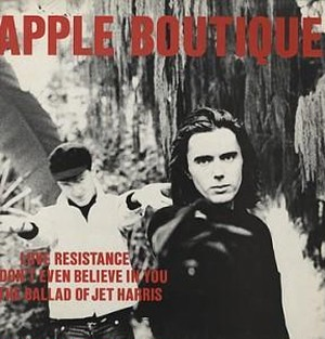 "【7""】APPLE BOUTIQUE - LOVE RESISTANCE<OPTIC NERVE>ON1"