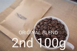 100g - ブリッツオリジナルブレンド豆-2nd-