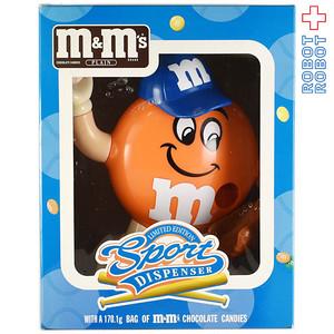 M&M's ディスペンサー 野球 エムアンドエムズ 箱付