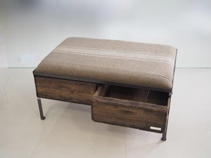 品番UEMW-115  2drawer ottoman[wide/European military blanket]