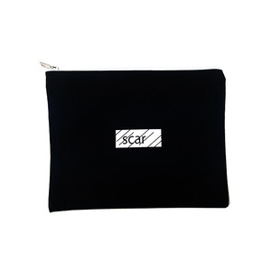 scar /////// BLACK BOX TOOL POUCH (Large) (Black)