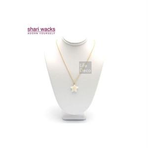 Shari Wacks シャリワックス スター ネックレス ホワイト
