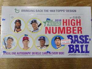 MLB 2018 TOPPS HERITAGE HIGH NUMBER
