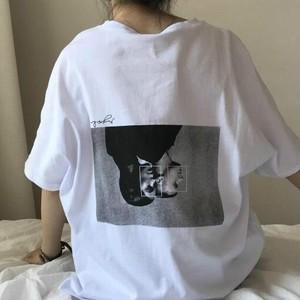 【トップス】シンプル原宿風ゆったり感ファッションTシャツ18145348