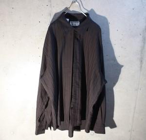 Rayon Poly Stripe Shirt