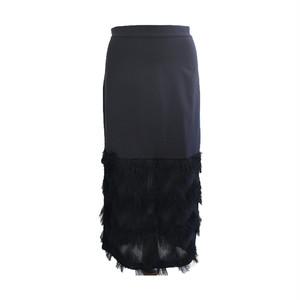 RIMI&Co. SELECT フリンジ装飾 ストレッチスカート 2Color