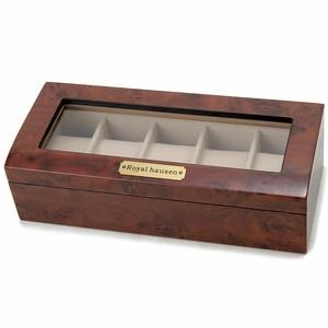 ロイヤルハウゼン ROYAL HAUSEN 腕時計 コレクション 5本収納ケース ウッドタイプ 189962