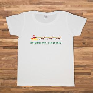 クリスマス(8ビット)Tシャツ/ホワイト【CWE-010WH】