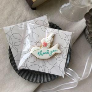 white  bird cookie (10個単位でご購入ください@540)