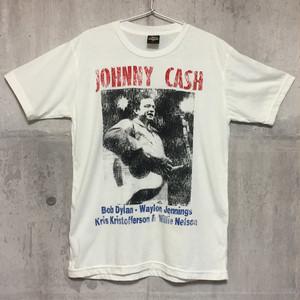 【送料無料 / ロック バンド Tシャツ】  JOHNNY CASH / Concert Poster Men's T-shirts L ジョニー・キャッシュ / コンサート・ポスター メンズ Tシャツ L