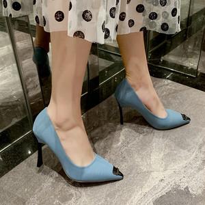 【shoes】浅い口ファッション感満々レディースパンプス 24334567