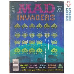 MAD MAGAZINE マッドマガジン no.230 スペースインベーダー April 1982