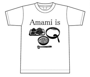 Amami is 鶏飯 Tシャツ