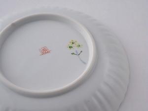 菜の花 6寸輪花皿
