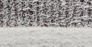 Kontex Rib Hand Towel Brown
