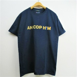 modemdesign  Championボディ アナグラムデザインプリントTシャツ   COL,NAVY