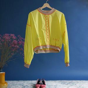 【送料無料】Yellow vintage boys pullover