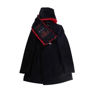 YUKI HASHIMOTO Wool Peacoat