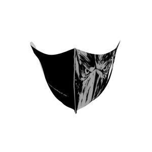 マスク【ブラック】★墨絵ハシビロコウ