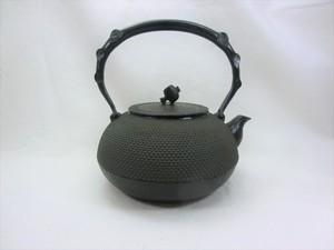 鉄瓶 宝珠アラレ(黒) 1.4L