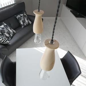 ペンダントライト ランプ 照明 Hout Tumblr(ハウト タンブラー) 天井照明 裸電球 LED対応