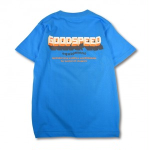 GOODSPEED equipment EVILACT(イーブルアクト) / 3D Logo S/S T's(turquoise)