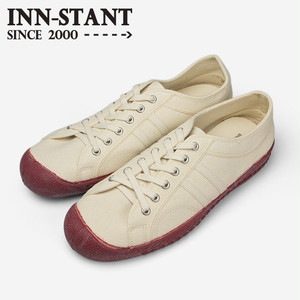 #105 CANVAS SHOES natural/natural (red sole) INN-STANT インスタント 【消費税込・送料無料】