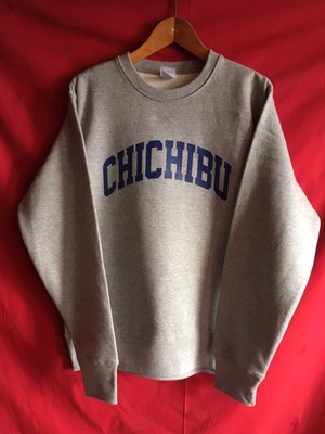 CHICHIBU Heavy Weight Swets Gray 12.7oz Brushed back