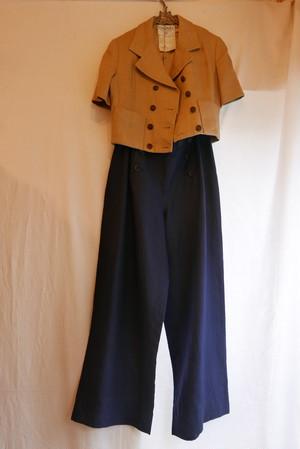 CHANEL Navy Marine Pants
