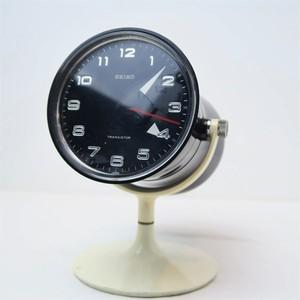 SEIKO トランジスタ式置時計 スペースエイジの代表的デザイン