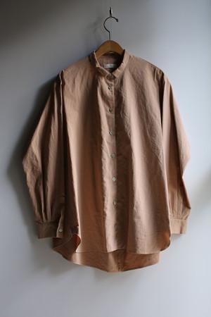 susuriススリ #18-358 ヘムレンシャツ amber ユニセックス