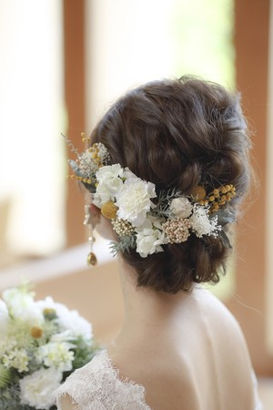 【new】Mimoza * bridal head dress