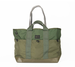 MIS-1036 MULTI POCKET TOTE BAG_OLIVE