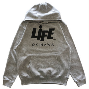 PROMOTION TEAM P/O HOODIE (GREY) / LIFEdsgn